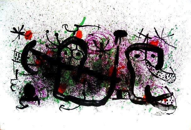 """8K: Joan Miro """"  Maravillas con Variaciones Acrosticas"""
