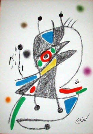 """1B: Joan Miro """"Maravillas con Variaciones Acrosticas"""""""