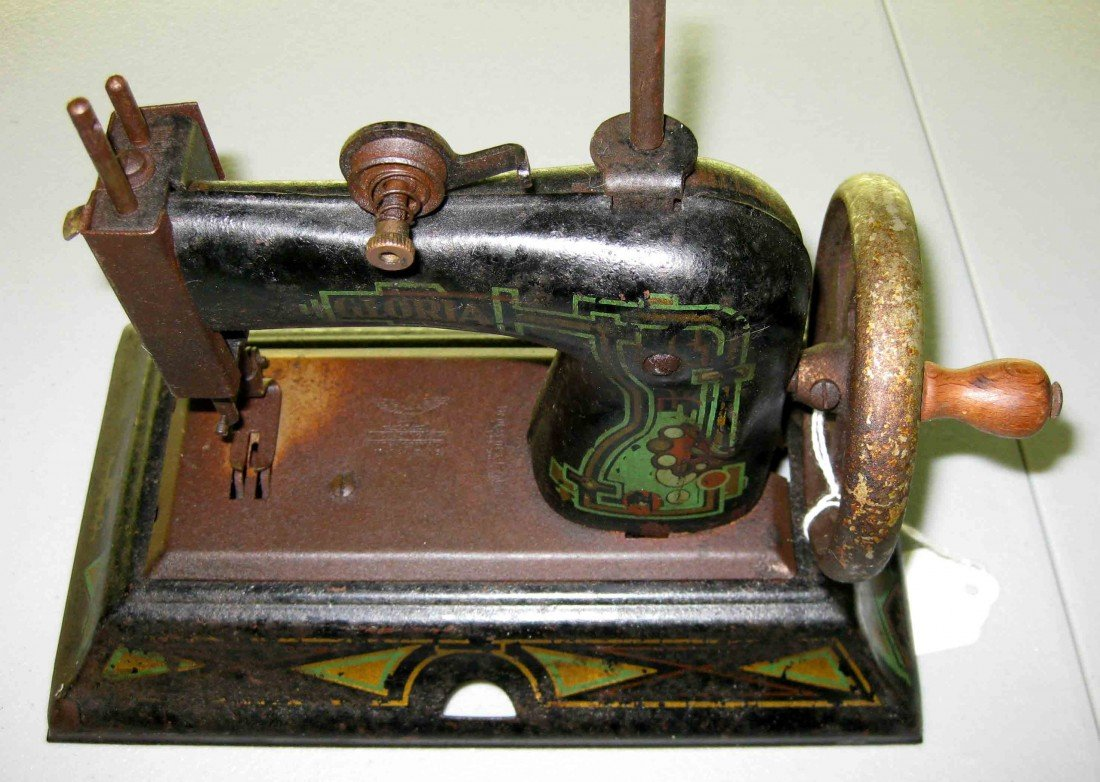 4A: Antique Small Sewing Machine