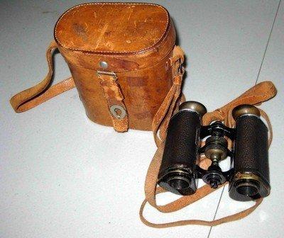 3: Vintage German Army Trieder Binoculars Berlin