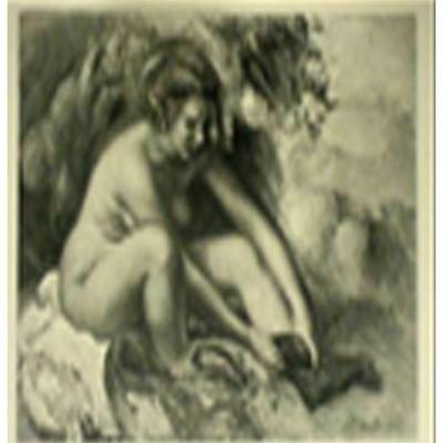 "17: Renoir ""Femme nue se chaussant"" Limited edition of"