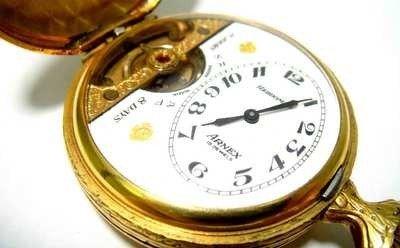 2: 14KT Gold Filled Arnex pocket watch