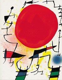 "61A: Joan Miro ""Original lithograph III"" Original litho"