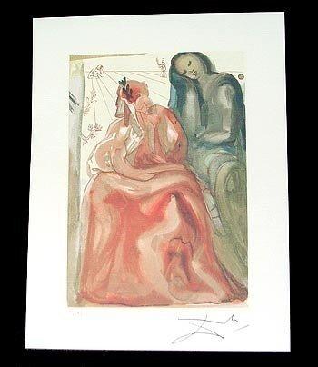 2B: Salvador Dali - Reawakening of Dante