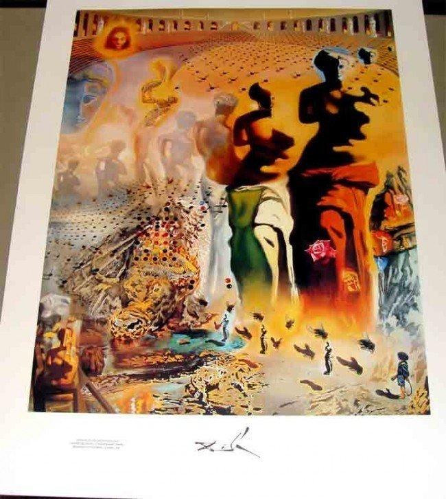 5A: The Hallucinogenic Toreador by Dali Ltd Print 95