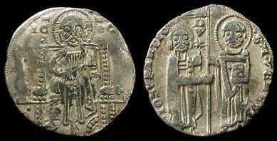 Medieval Venetian Giovanni Soranzo. 1312-1328 AD Coin