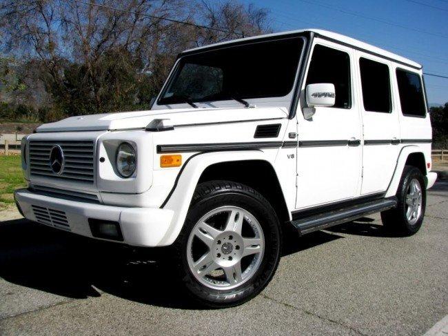 91B: 2008 Mercedes-Benz G500 WHITE w/ LOW Mileage