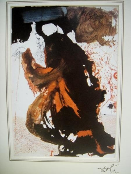 6X:  SIGNED LITHOGRAPH BY DALI