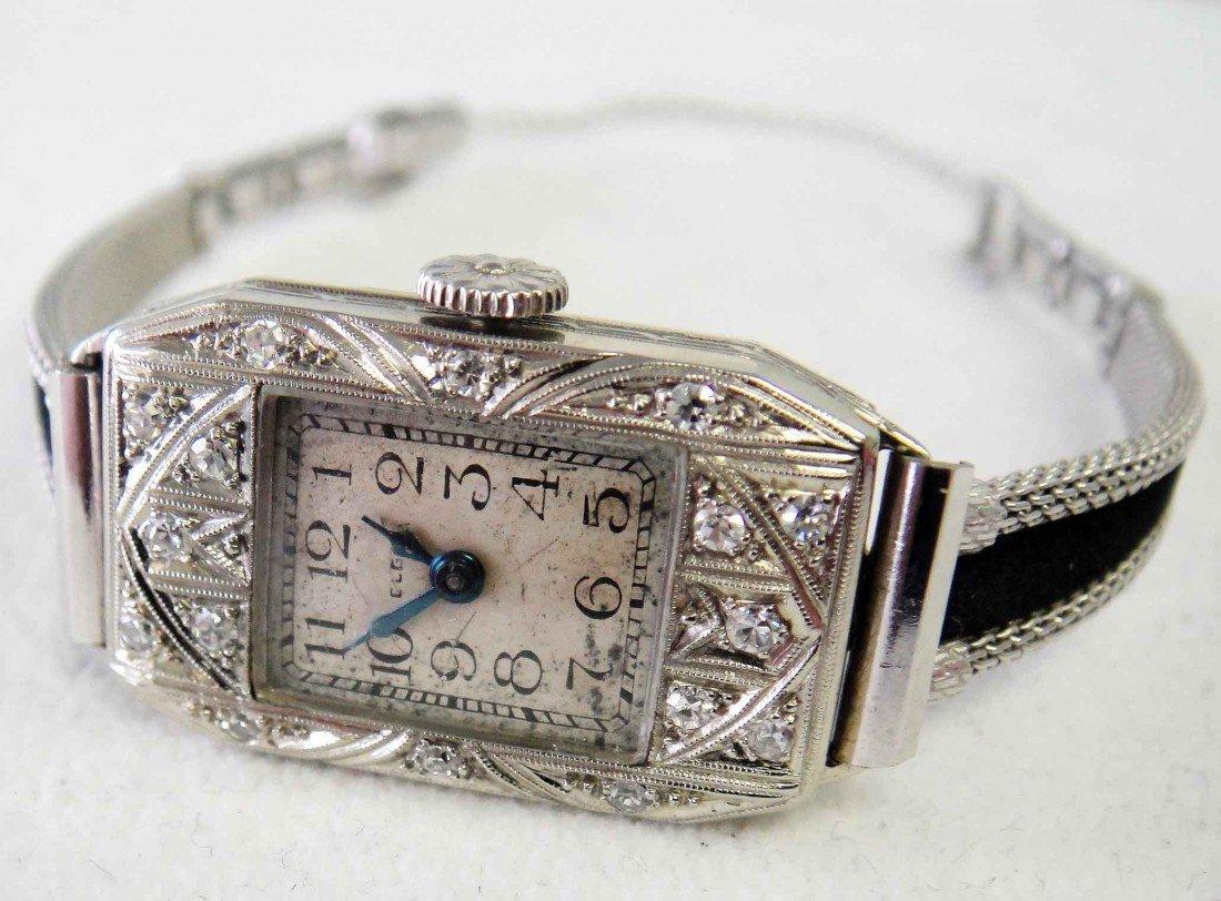 2: Vintage Elgin .24ct Diamond 18K & 10K Wristwatch