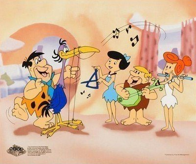 "2B: Hanna-Barbera ""Fred Plays the Harp"" LIMITED EDITIO"