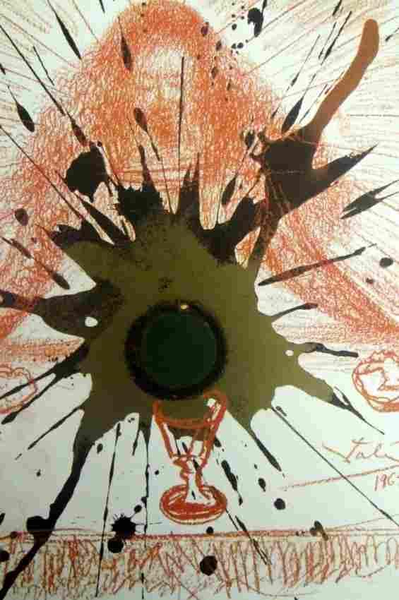 Salvador Dali Bible Lithograph Ars Mundi X-319