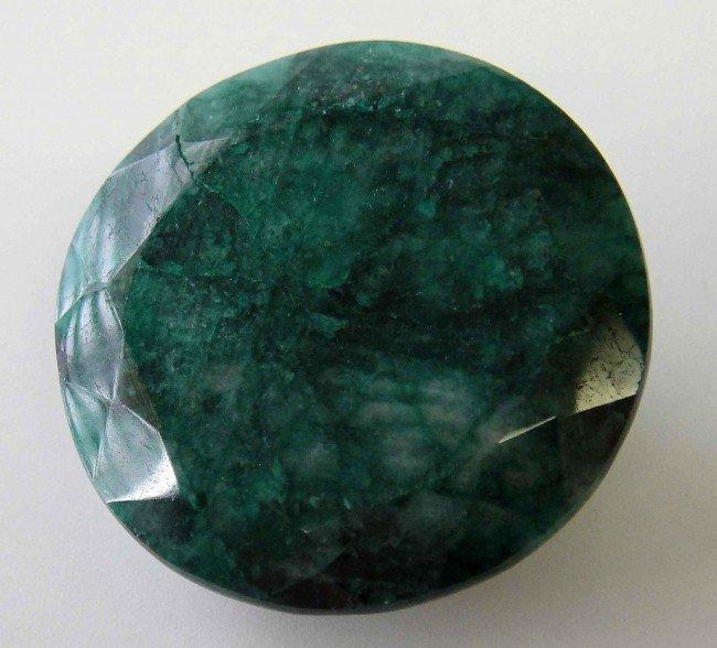 2C: 143.35CT Natural Genuine Green Emerald w/ COA