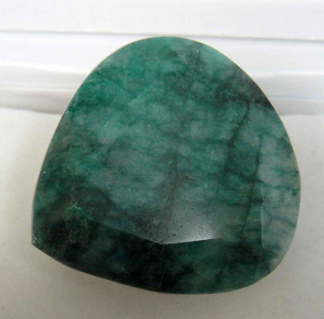 322.75ct Natural Pear-Cut loose Green Emerald Gemstone
