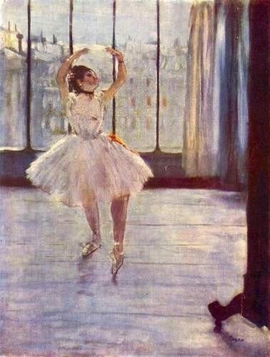 "Edgar Degas ""the Dancer"" Giclee Print 12 x 16"