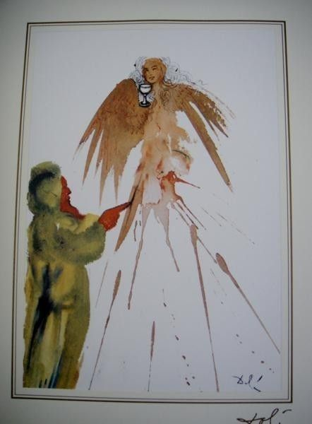 145: Salvador Dali Bible Lithograph Ars Mundi X-319