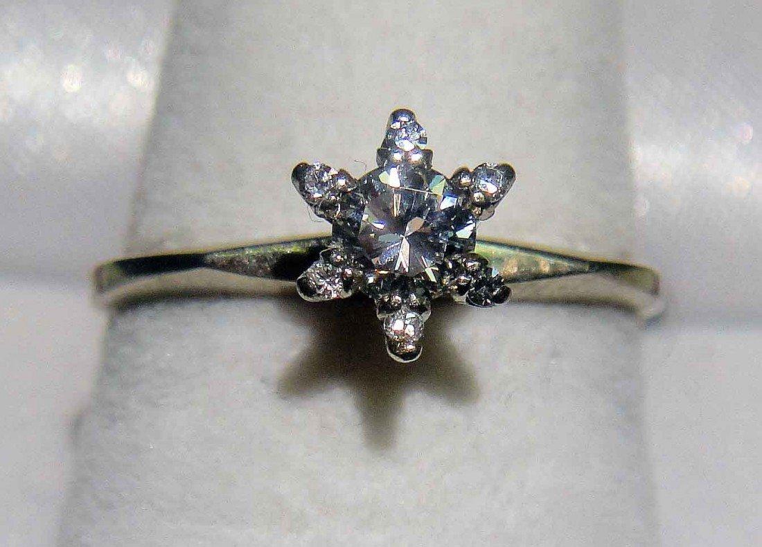 0.23ct Diamond set on 18KT White Gold Ring