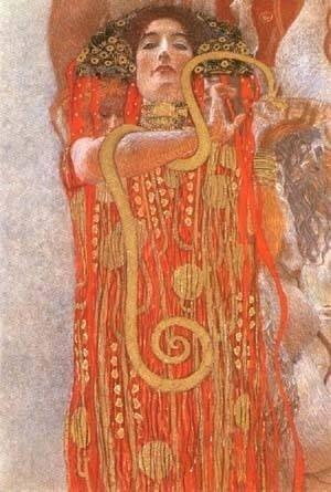 2A: Gustav Klimt Hygeia .