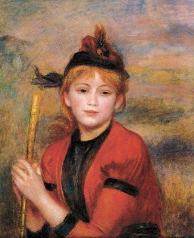 3A: Pierre-Auguste Renoir - The Rambler.