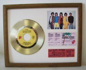 6B: The Rolling Stones gold plated record