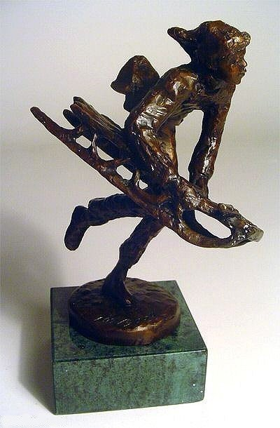 "5A: """"Down The Hill"""" Bronze by Dennis Smith Limited"
