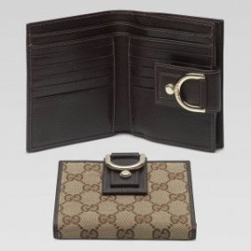Authentic Gucci Womens Wallets With D Ring