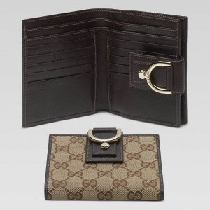 4B: Authentic Gucci Womens Wallets with D ring