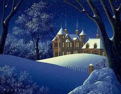 """5F: Jim Buckels    """"Winter""""    The Seasons Suite."""