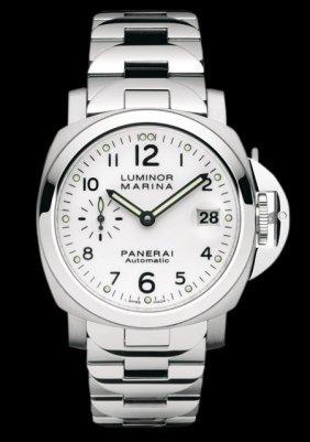 Panerai - Luminor Marina Stainless Steel - White Dial