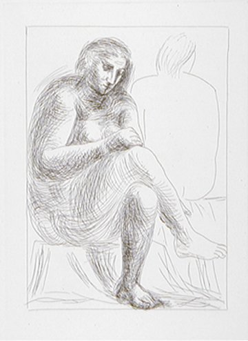 """PICASSO """"Suite Vollard"""" Plate Signed Lithograph"""