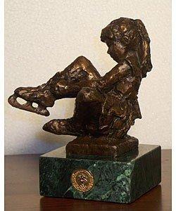 47: Dennis Smith 'Beginnings' Bronze Sculpture
