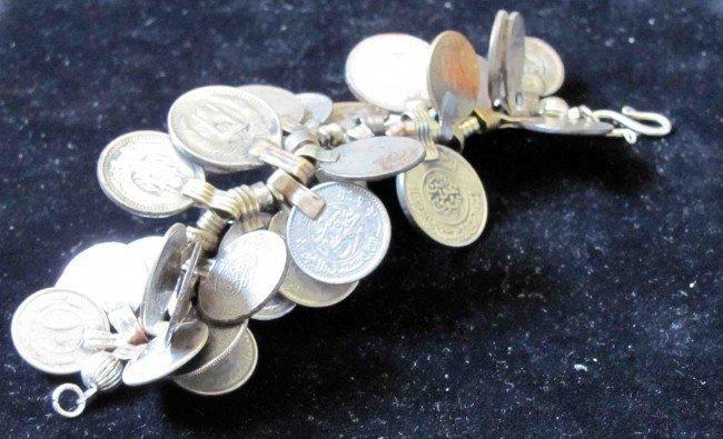 48: Antique Persian Coins Bracelet