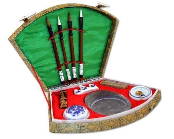 82: Chinese calligraphy brush pen ink Inkstone tool bo
