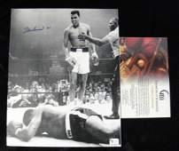 Genuine Muhammad Ali Signed Memorabilia PSA/DNA COA.