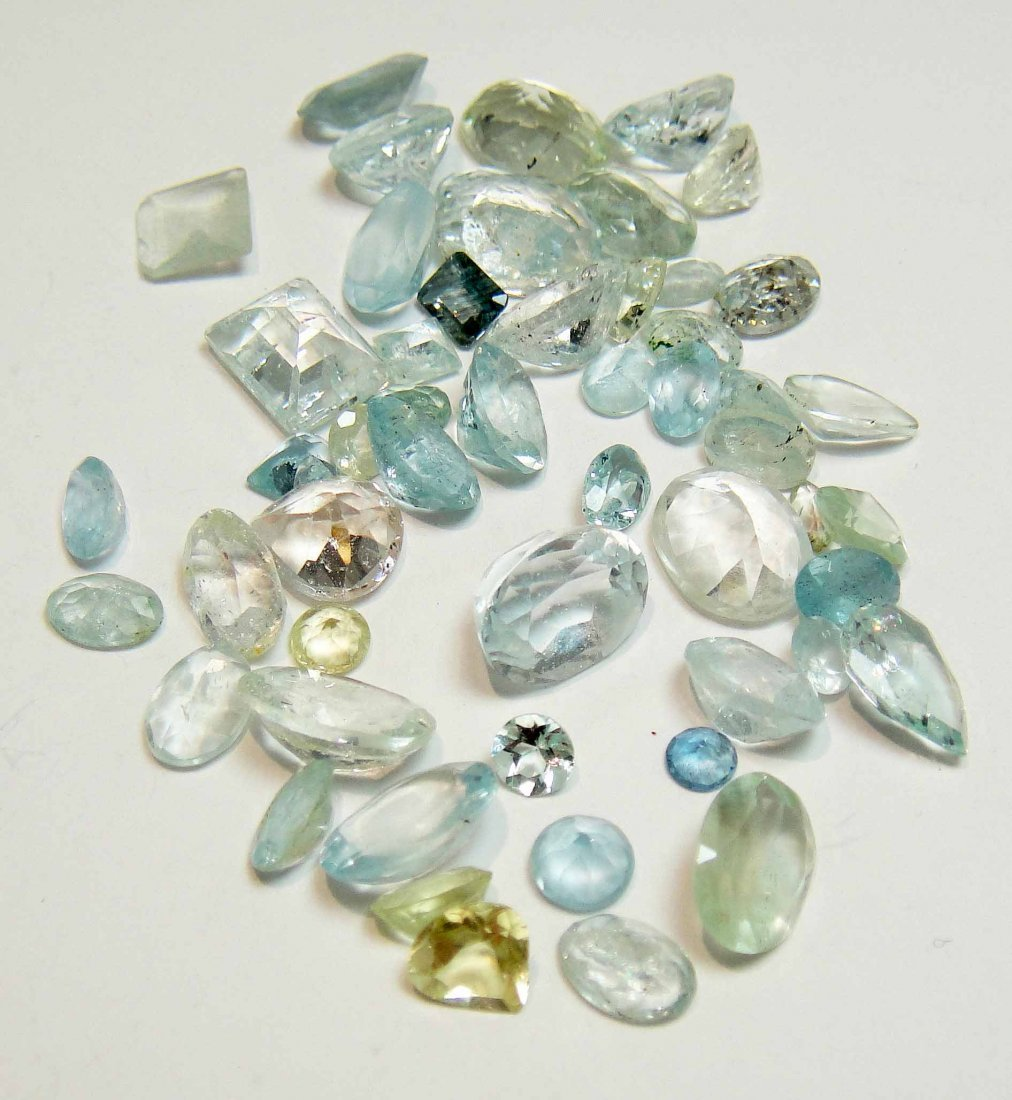 50.00ct Natural Aquamarine  with AIG Certification