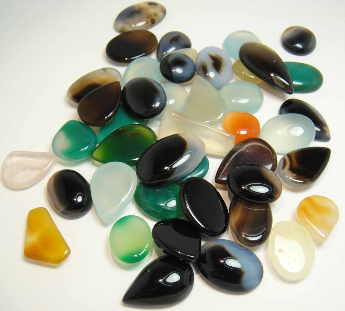 1005.53ctw Natural Agate with GLA Certification