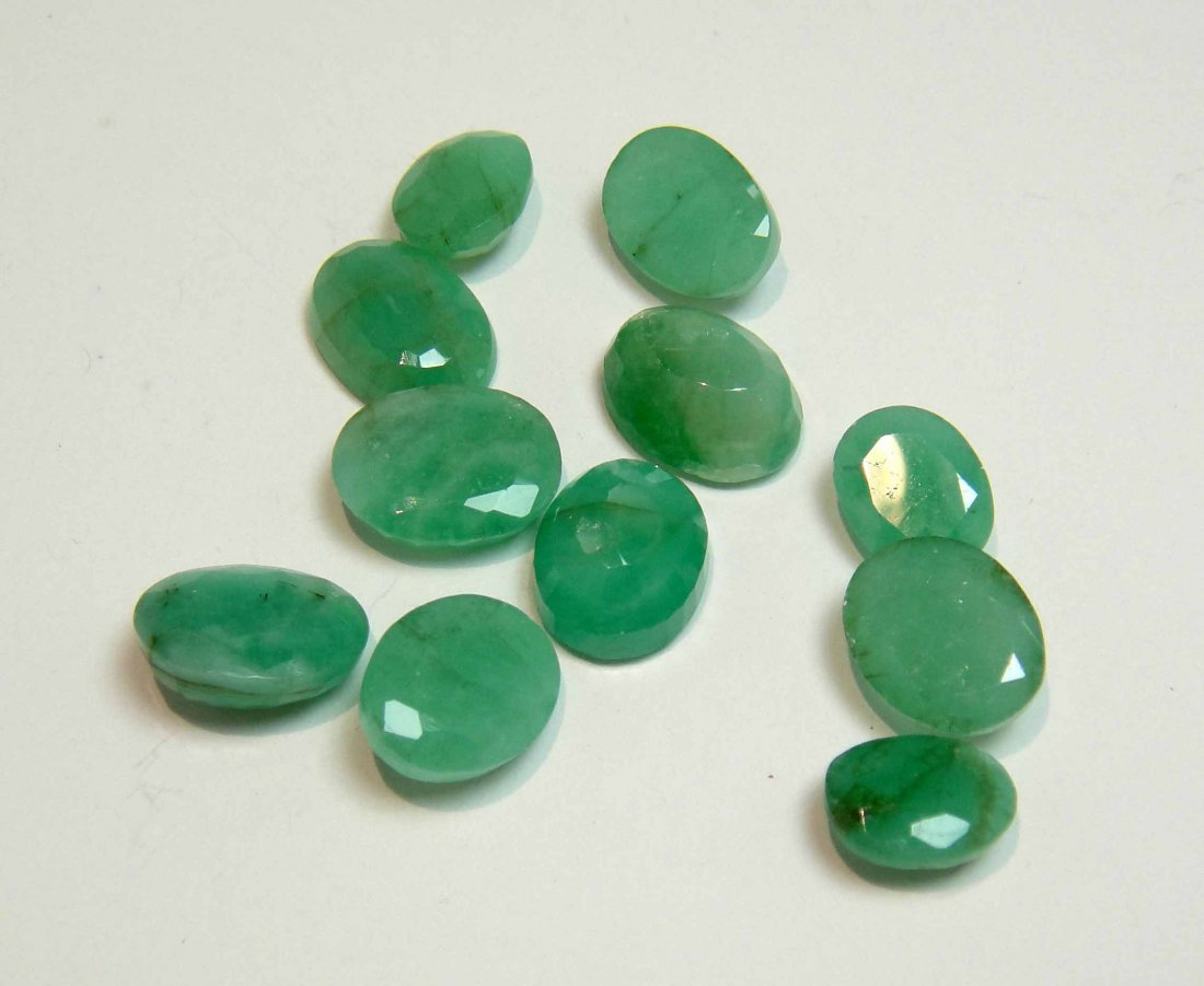 44.89ctw Natural Emerald with GLA Certification