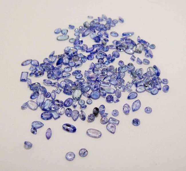 42T: 20.00ctw Natural Tanzanite with GLA Certification