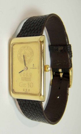 Original Corum 18KT Ladies Wristwatch 39.8 G