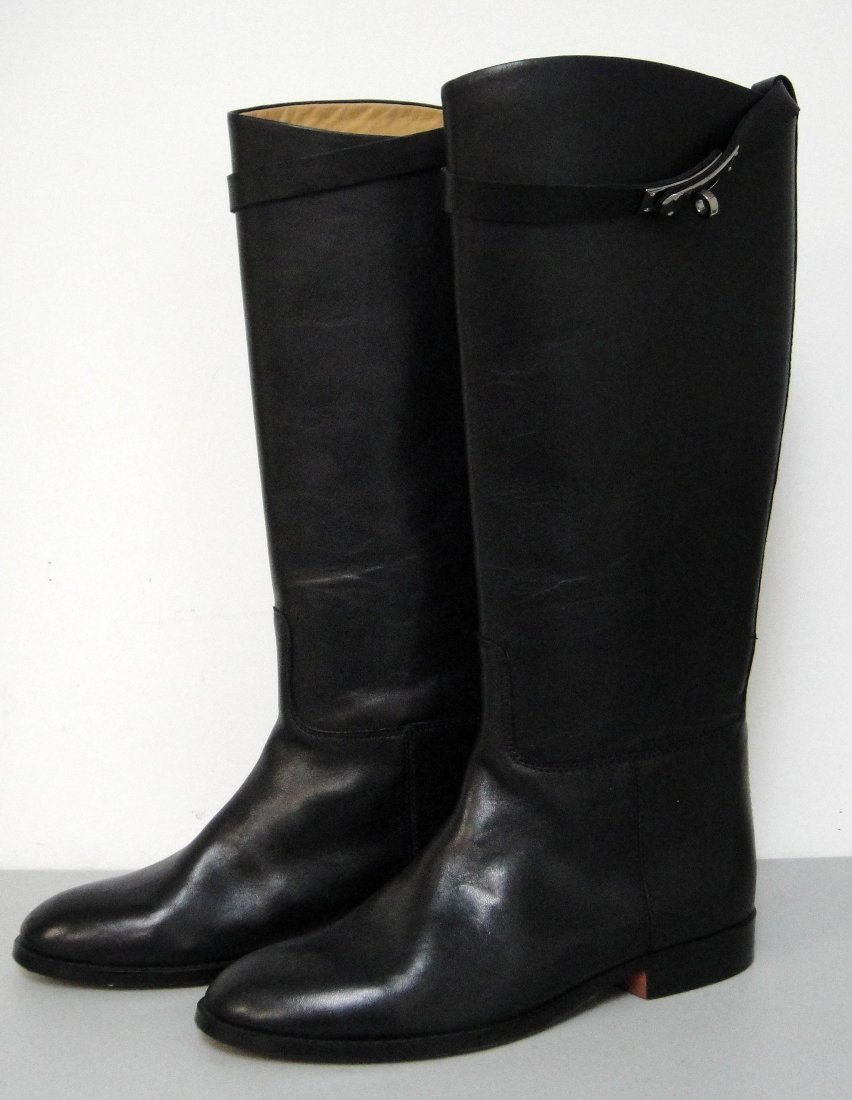 3DB: Authentic Hermes Jumping calfskin Ladies Boots