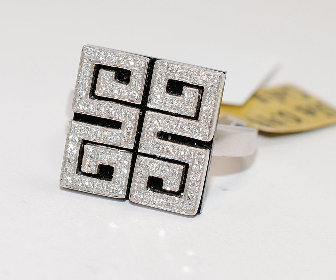 0.47ct Diamond 14KT White Gold Ring