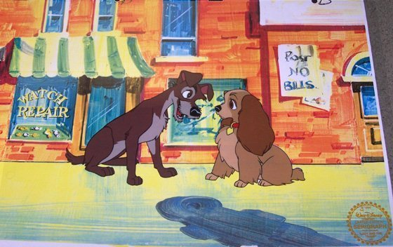 5B: Lady and the Tramp BY Walt Disney Seri-Cel
