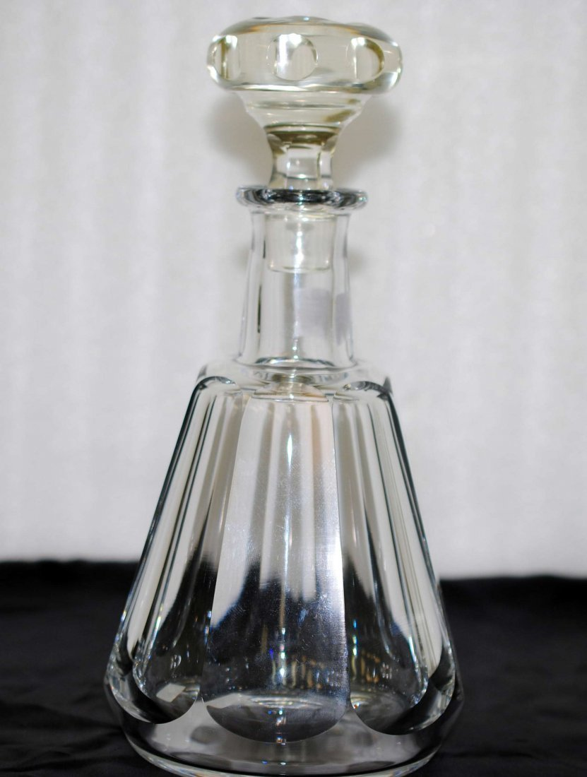 2O: Beautiful Baccarat Alcohol Crystal decanter Stamped
