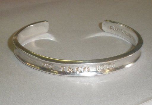 3e63f13cd 61Y: Authentic Tiffany & Co 1837 1997 Sterling Silver B