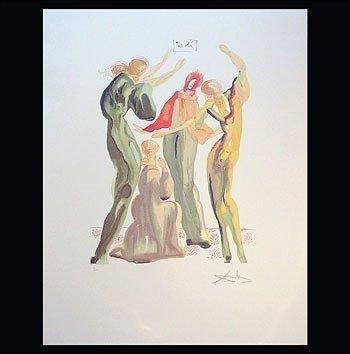 "Salvador Dali - ""La Danse"" Limited Ed Offset Lithograph"