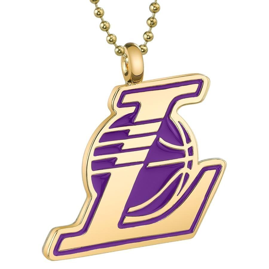 1D: Iconic Los Angeles Lakers Unisex Medallion Necklace