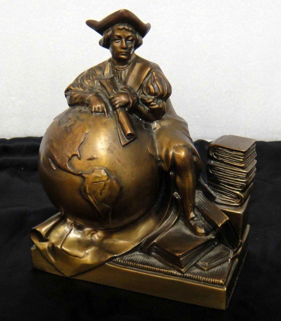 4B: Bronze Sculpture of the World & Education