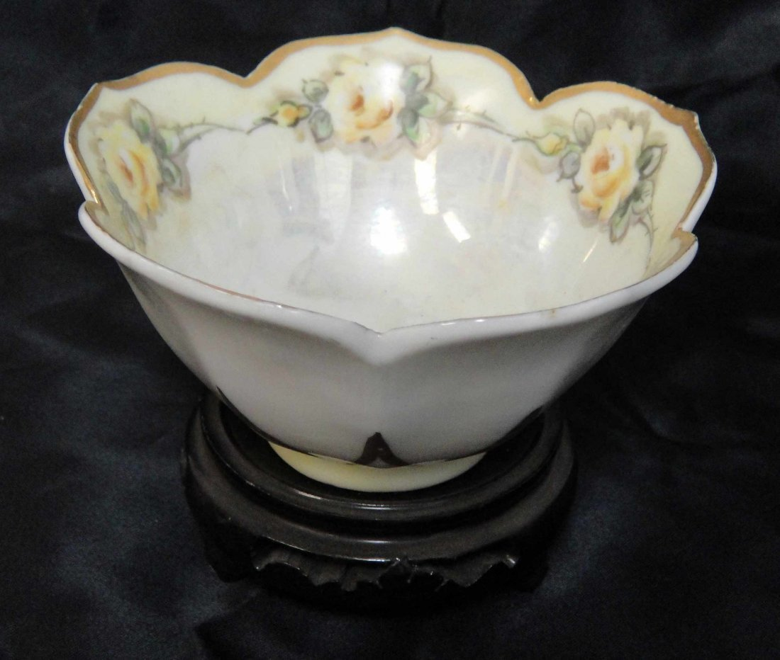 5B: Vintage Hand painted Grace McClary Vase