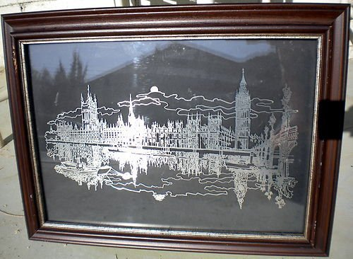 """2A: Franklin Mint """"London"""" 1977 Limited Edition Sterlin"""