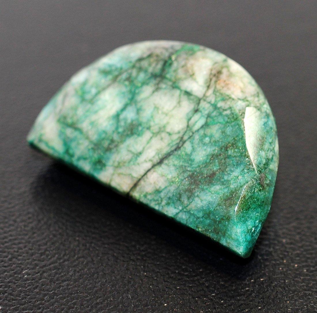3C: 141.80ct Natural Emerald w GLA Certification AV: $4