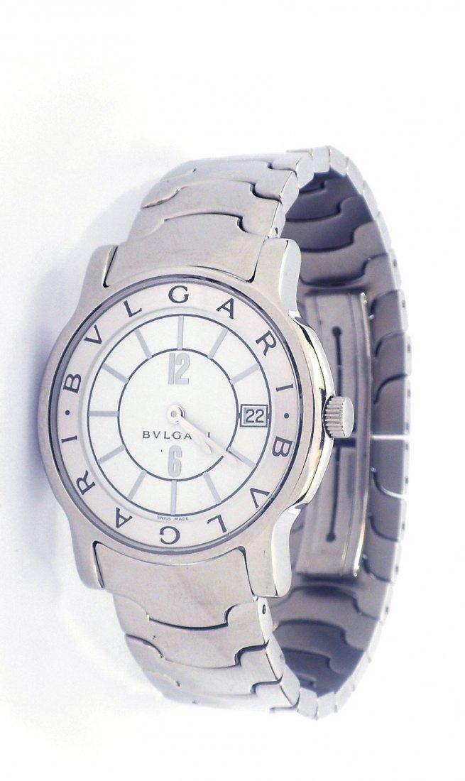 2: Original BULGARI Ladies Stainless Steel Wristwatch